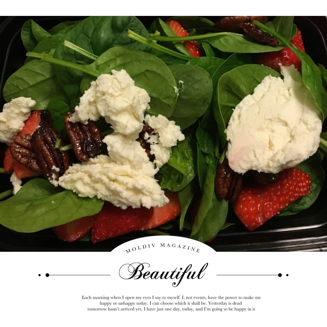 Strawberry and goats cheese salad.JPG
