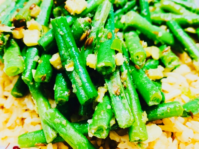Green Beans and Ginger